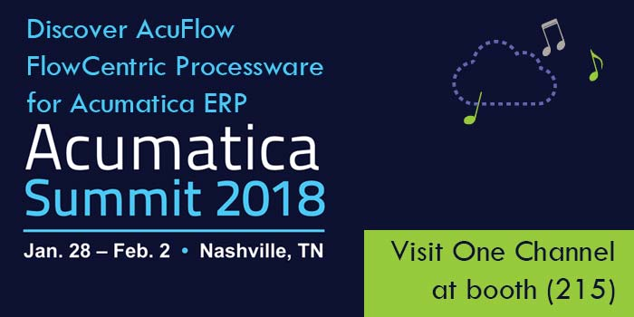 Discover AcuFlow FlowCentric Processware for Acumatica ERP
