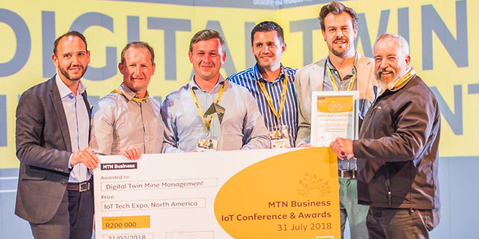 FlowCentric/MineRP Collaboration Wins Best Industry 4.0 Solution at MTN IoT Awards 2018